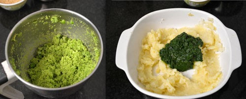 Spinach Green Peas Kebab Recipe