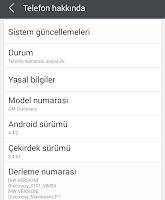 General Mobile Discovery 4.4.2 KitKat Final Sürümüne Root Yetkisi Vermek