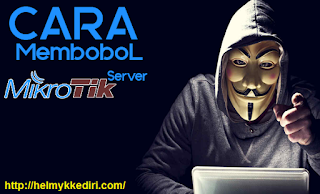 Cara hack mikrotik server diwindows terbaru