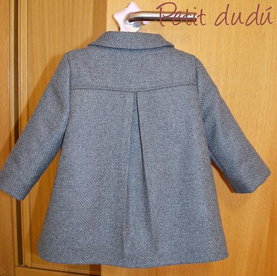 abrigo para niña petitdudu