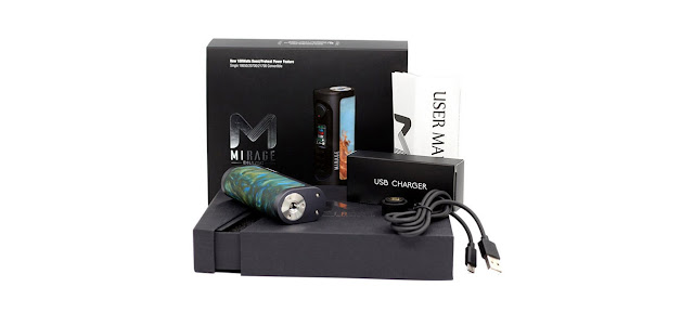 Lost Vape Mirage DNA 75C Box Mod package
