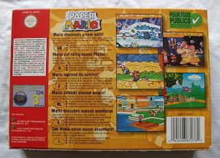 Paper Mario - Caja detrás
