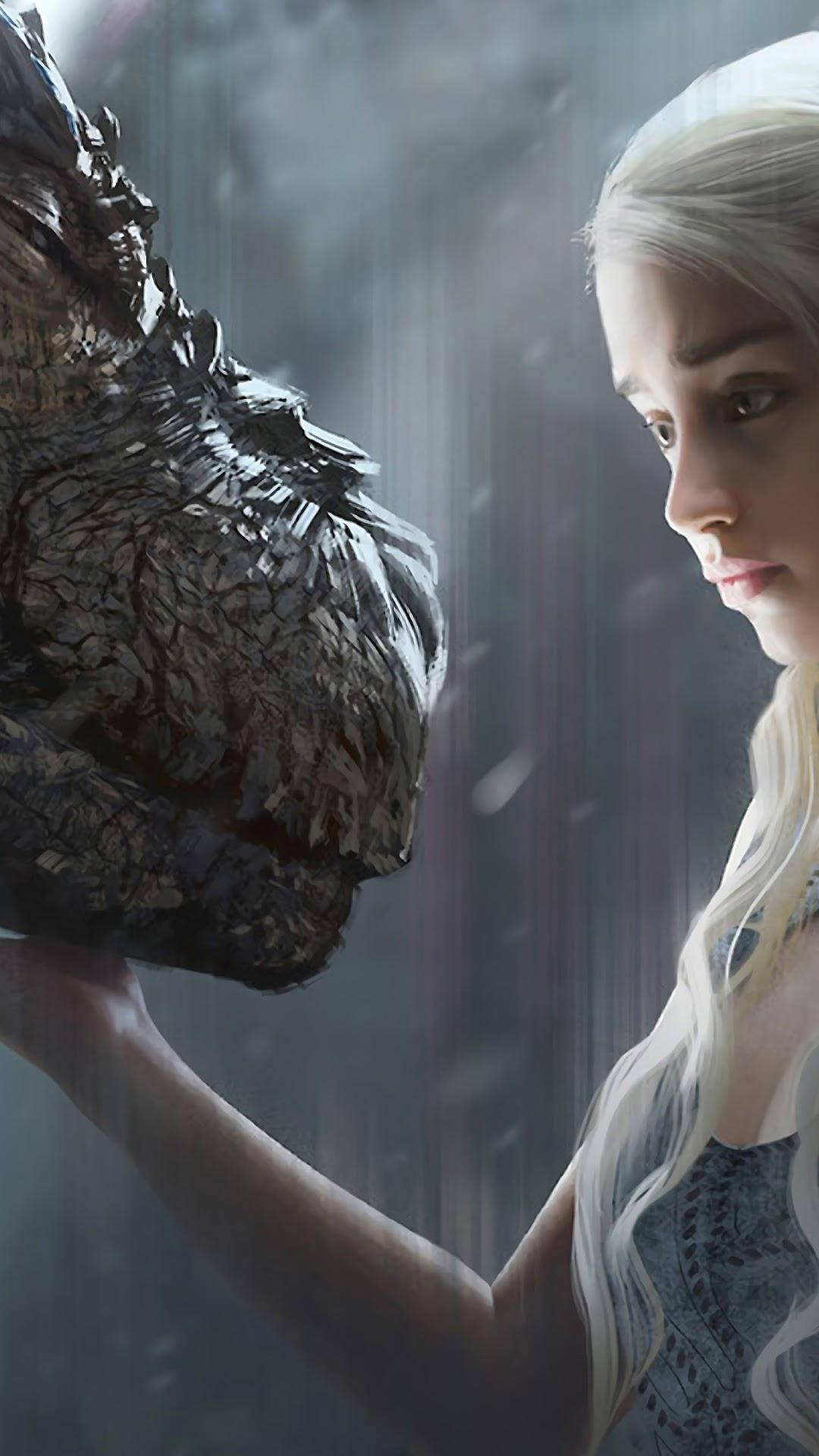 Daenerys Targaryen Dragon Game Of Thrones 4k Wallpaper 47