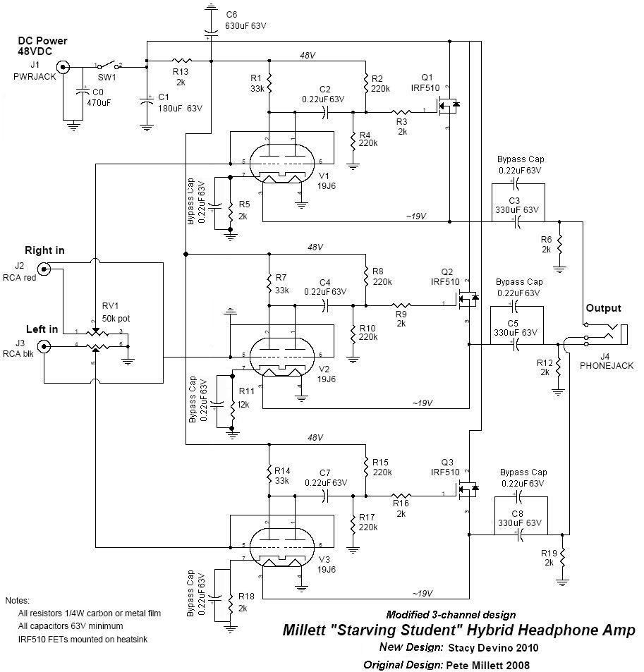 Modified And Refined Ss Tube Hybrid Headphone Amplifier Stacy Devino Lifier Circuit Schematic Here Are Some Distortion Performance Graphs For You That I Dug Up From The Original Pci E Soundcard Used