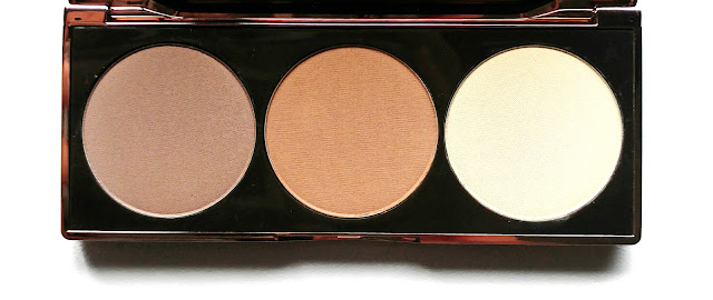 Nude By Nature Contour Palette Review, Nude By Nature Contour Palette Swatches