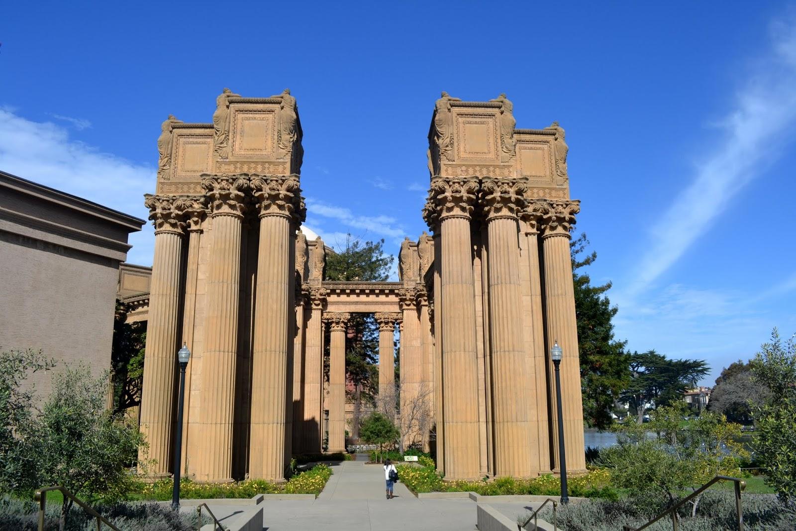 Дворец Искусства. Сан-Франциско, Калифорния. (Palace of Fine Arts, San Francisco, CA)