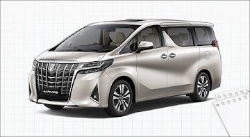 Toyota Alphard Luxury 2019