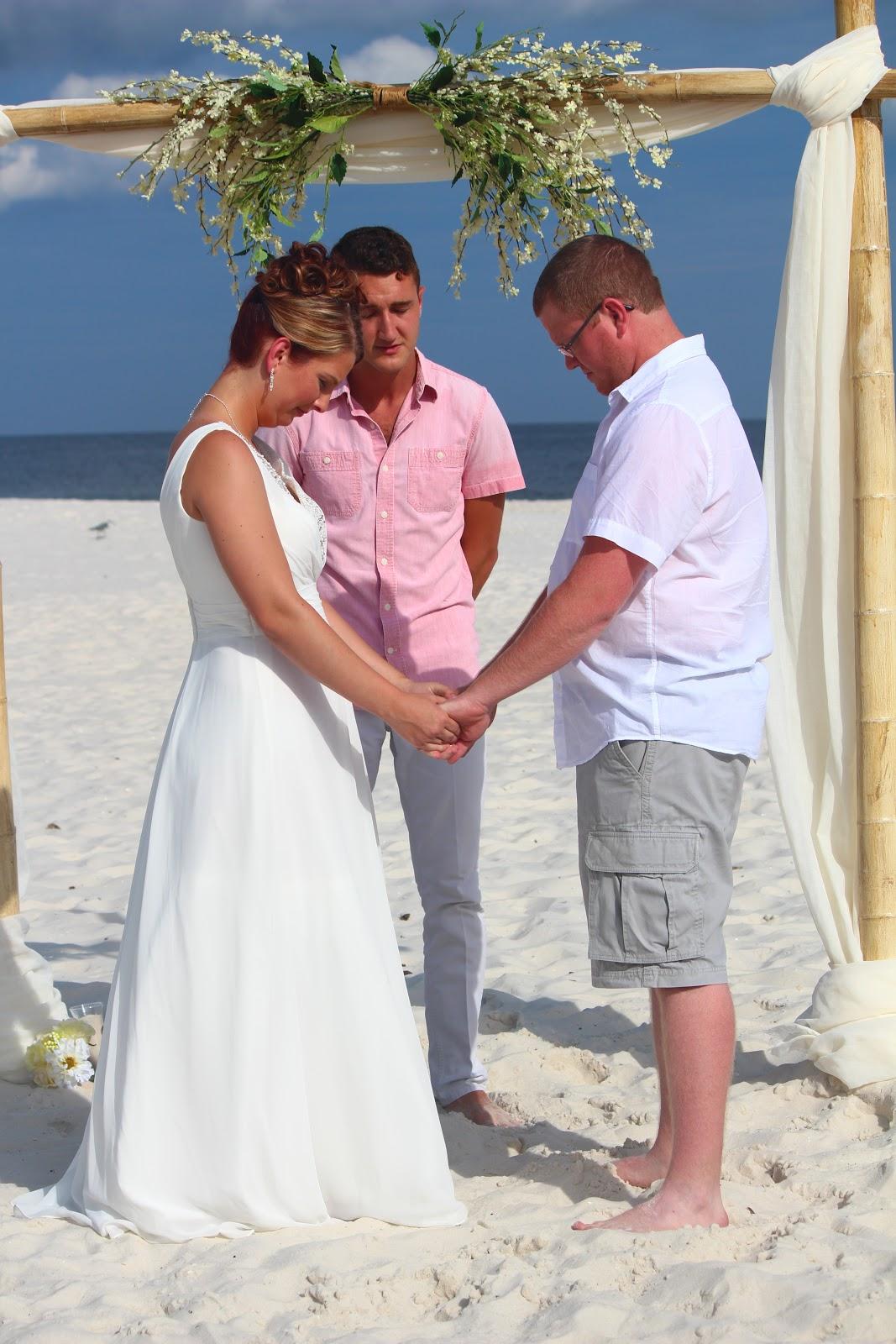 Beach Dream Wedding Of STEVEN AND KAYLA Orange Beach Alabama Beach Dream Weddings 251 504 0368