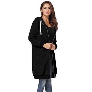 Romacci Women's Casual Zip up