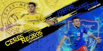 Live Streaming Ceres Negros vs JDT FC AFC Cup 31 Mei 2017