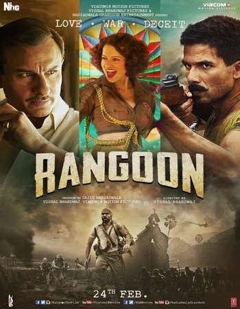 Rangoon 2017 Full Hindi Movie BRRip Free Download