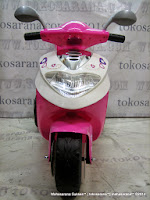 Motor Mainan Aki DOESTOYS DT626 MIO in Pink