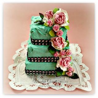 mini wedding cake smoothfoam