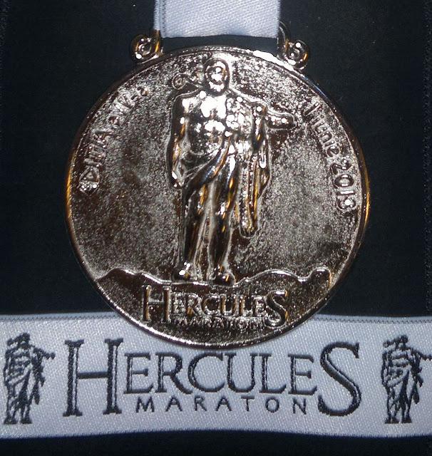 Hercules Maraton 2013 medalie