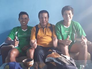 Bersama pemain Nasional