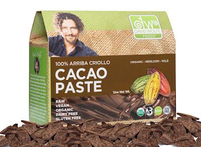 David Wolfe's 100% Arriba Criollo Cacao Paste