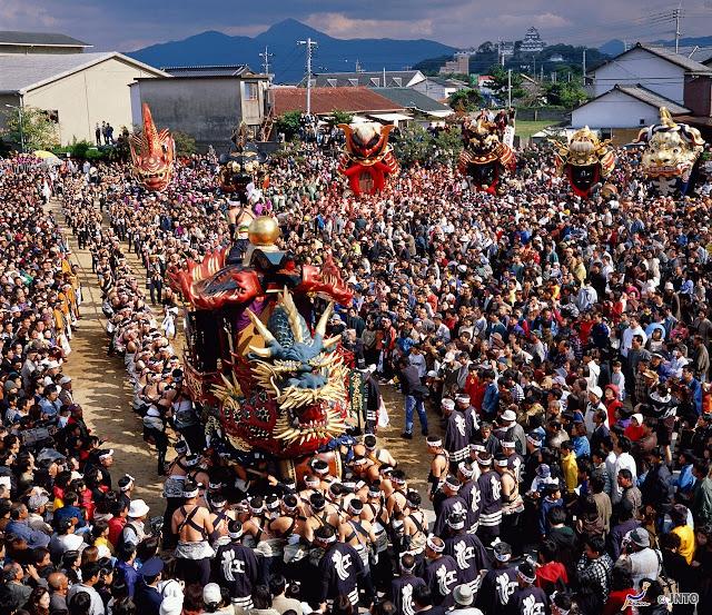 Karatsu Kunchi or Festival of Karatsu Shrine, Karatsu, Saga