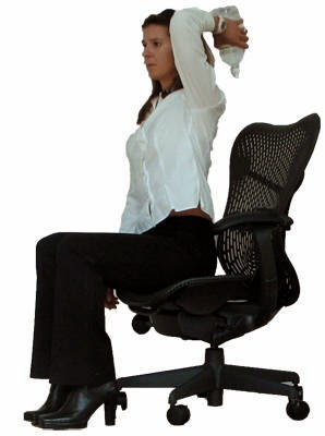 Arm Toning Workouts in Office chair to Burn Arm Fat