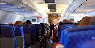 Χαμός σε πτήση: Ούρλιαζε και χτυπούσε - F-16 συνόδευσαν ως την προσγείωση