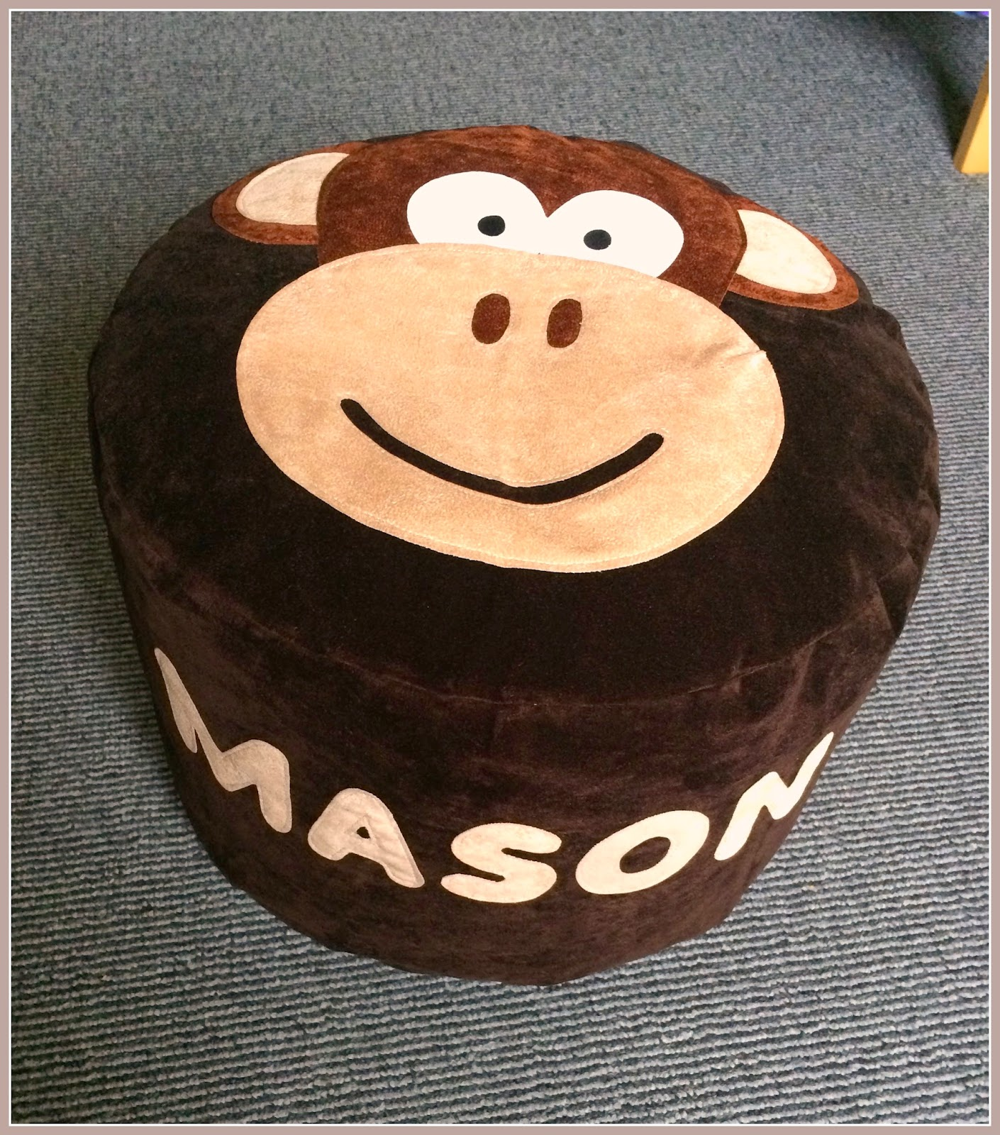 teeny-beanies-personalised-beanbag-monkey