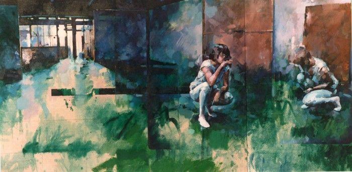 Британский художник. Glenn Ibbitson