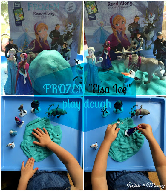 Frozen play dough