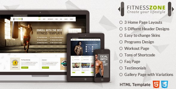 Template for Gym & Fitness