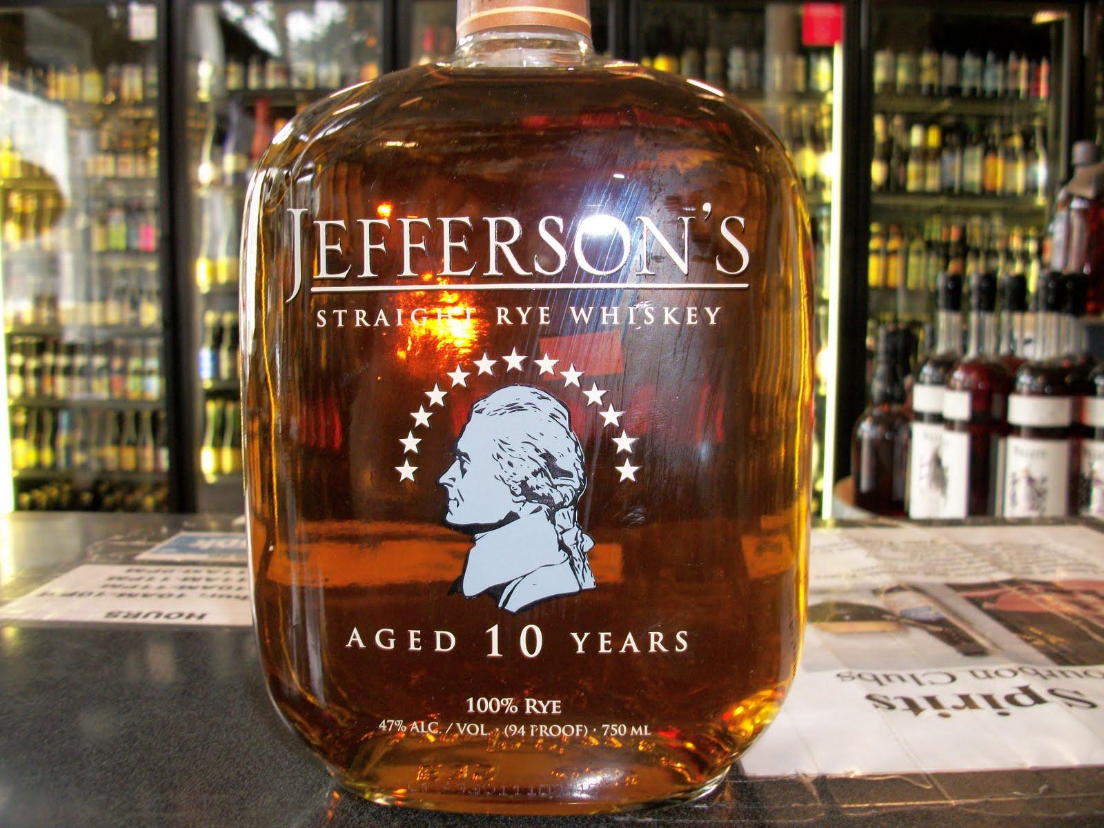 752b8b0a77e Jefferson s 10 year Rye  A (18th) Review.   bourbon