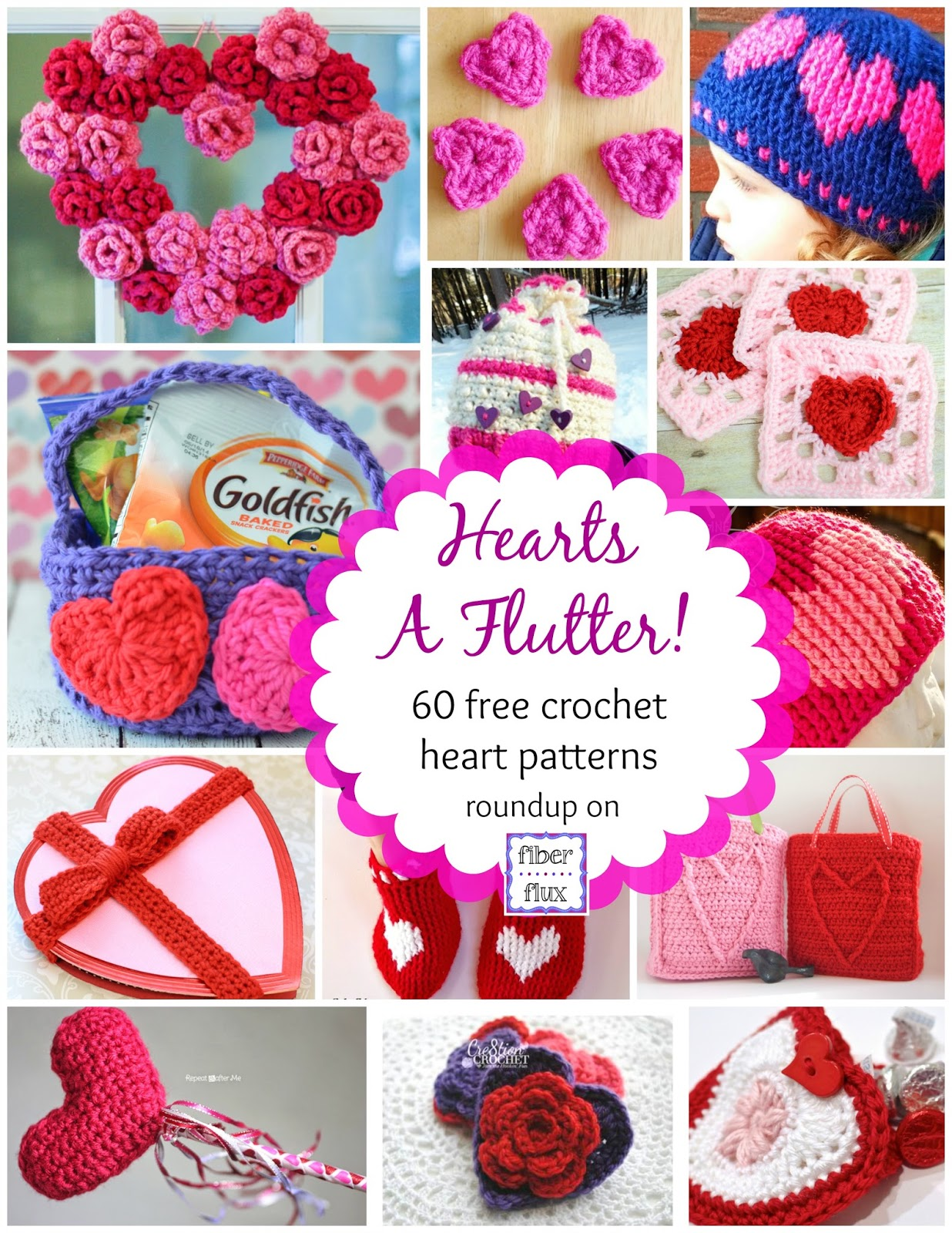144b8ef27ac Here is a gigantic collection of beautiful crochet projects full of hearts.  Included are bags