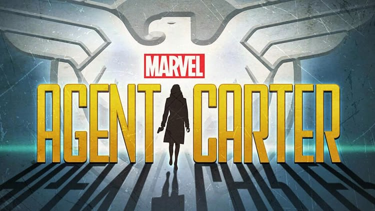 The cover image of Marvel's Agent Carter, starring Hayley Atwell.