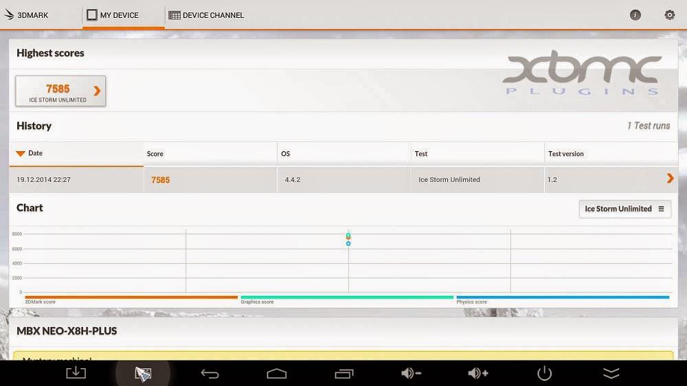 3DMARK MINIX X8-H PLUS