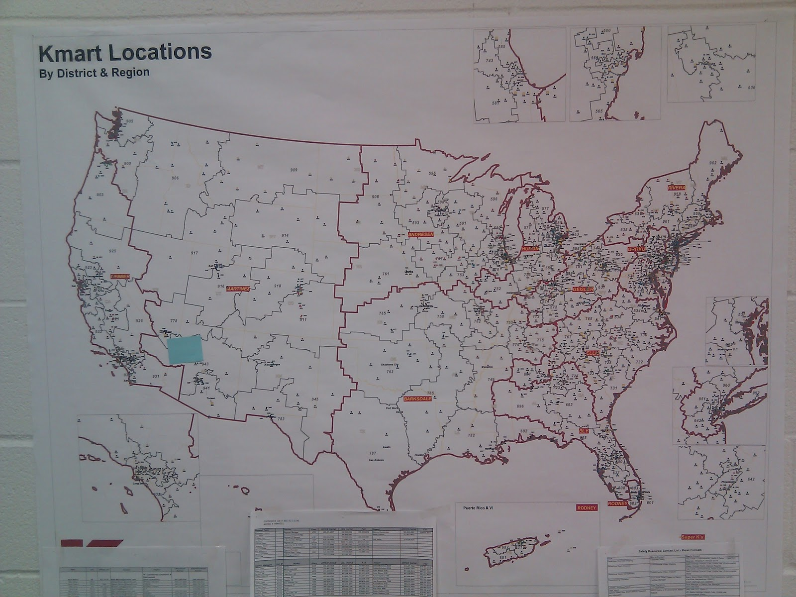 Kmart World Map Kmart World May 2012