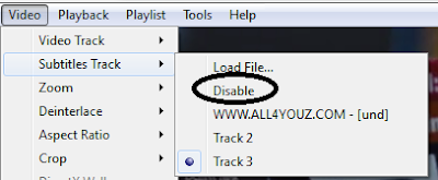 How To Turn On And Turn Off Subtitles In VLC Media Player