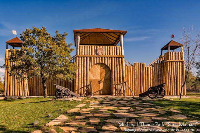 Sanc.Michael Medieval Theme Park @ Drveni dvorac Sanc.Michael u selu Rapanji Istra 17.11.2017