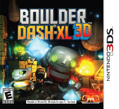 Boulder Dash XL CIA 3DS EUR