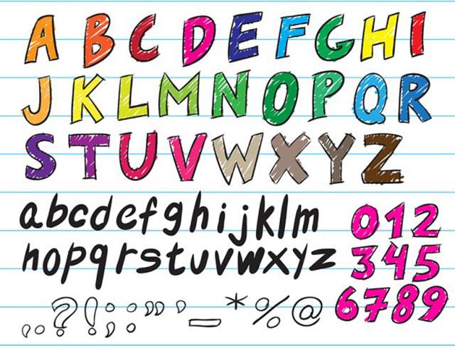 tipografia_manuscrita_vector