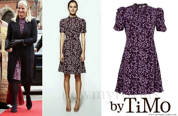 Crown Princess Mette-Marit wore by TiMo Lilly Dress