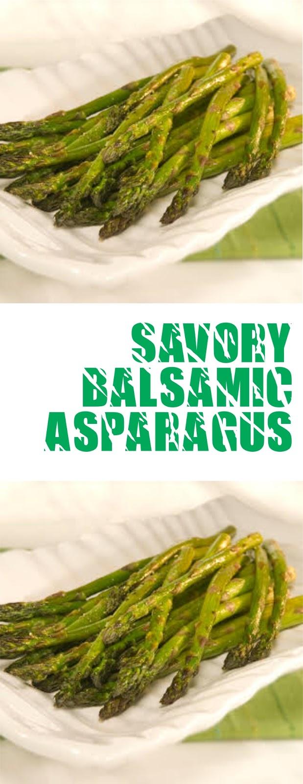 Savory Balsamic Asparagus