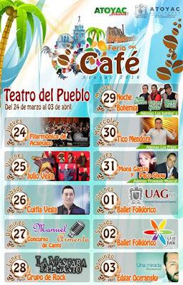 teatro del pueblo feria del cafe atoyac 2015