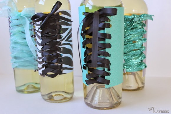 Bachelorette Party Wine Bottles are easy to DIY with a few basic supplies!