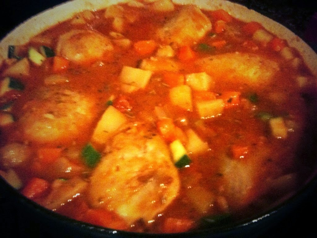 Chicken casserole is tasty too.