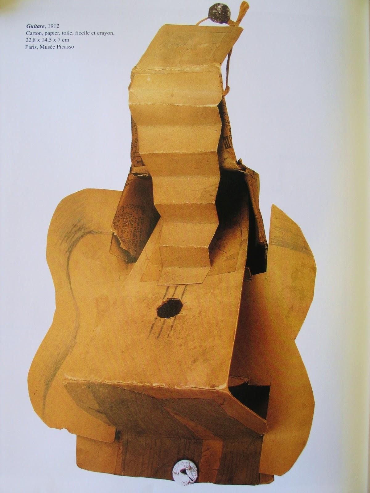 l'Histoire de l'Art : Série de guitares-----Pablo Ruiz Picasso