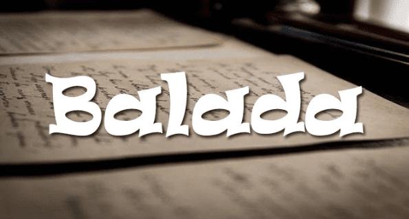contoh balada, pengertian balada, ciri ciri balada