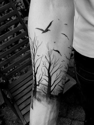 Árvores secas são, muitas vezes, considerados misteriosos e é. Mas também é belo em seu próprio caminho. Em seu significado, poderia significar a sua vulnerabilidade como um ser humano.