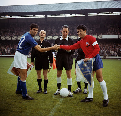 Italia y Chile en Copa del Mundo Inglaterra 1966, 13 de julio