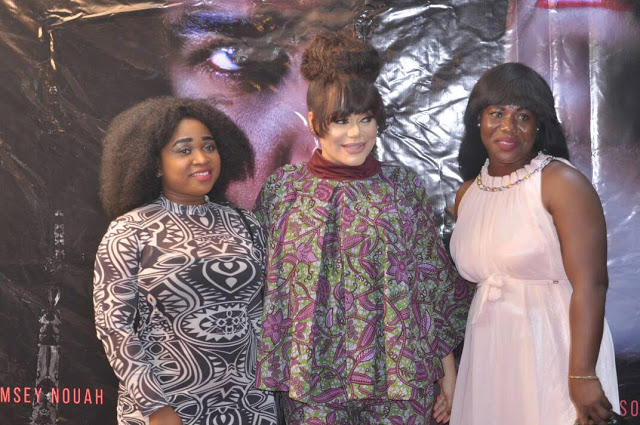 Photos: Nadia Buari's 'Deranged' Gets Huge Turnout