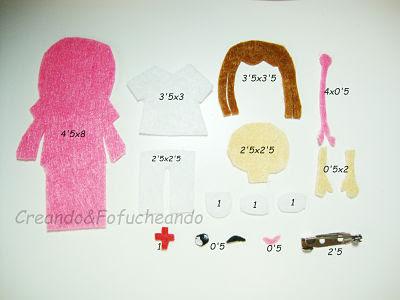 piezas-y-medidas-broche-de-enfermera-en-fieltro-paso-a-paso