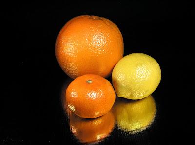 Orangeade glacée au thé