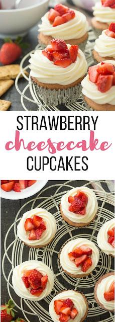 Strawberry Cheesecake Cupcakes – Best Dessert Recipe