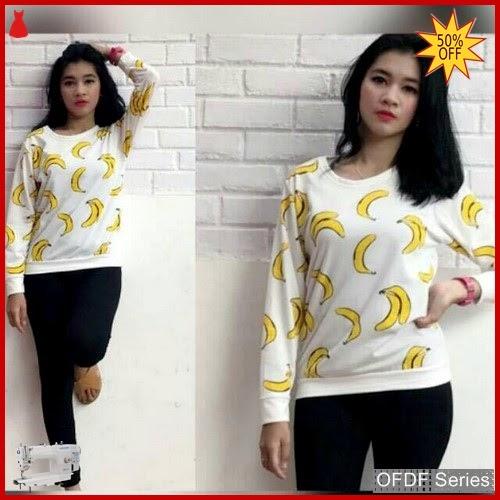 OFDF112 Atasan Blouse Opika Banana Sweet Panjang BMGShop
